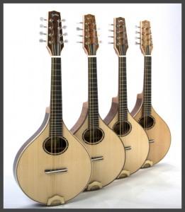 John Marlow Stringed Instruments - Acoustic Flatback Mandola