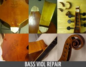 Bass Viol Repair